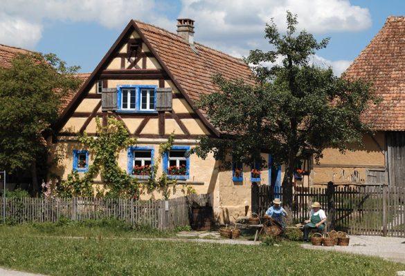 Häckerhaus im Fränkischen Freilandmuseum