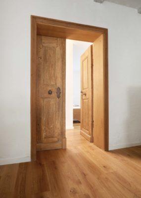 Tür im Gästehaus Osing