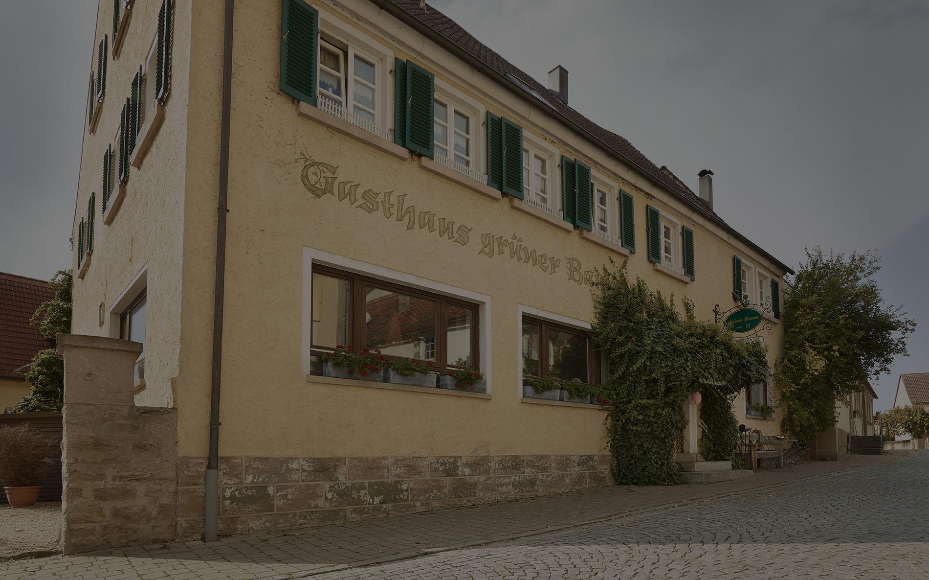 Gasthaus Grüner Baum - Außenansicht